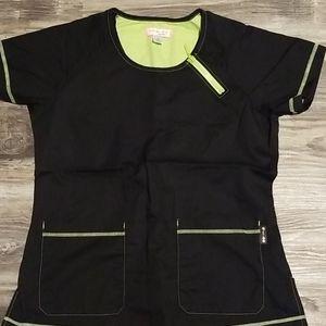 Koi by Kathy Peterson size medium scrub top